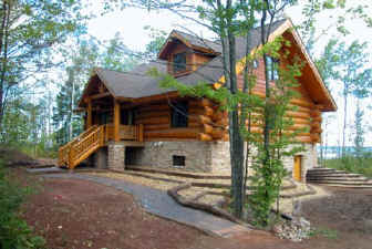 Michigan Vacation Lake Cabin For Rent Near Porcupine Mts